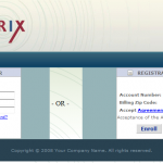 Intrix EBIPP Signup Screenshot