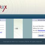 Intrix EBIPP Signup Screenshot